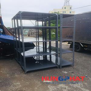 Lắp đặt kệ kho D1000 x S500x C2000 x 5 sàn tại Vacxin Thanh Hóa