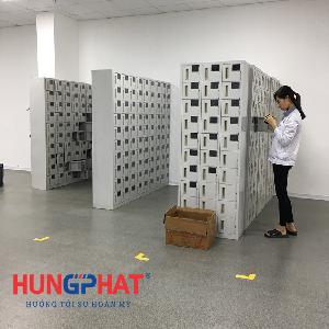 Nội thất Hưng Phát đơn vị phân phối tủ sắt locker tại KCN Yên Thành, Nghệ An