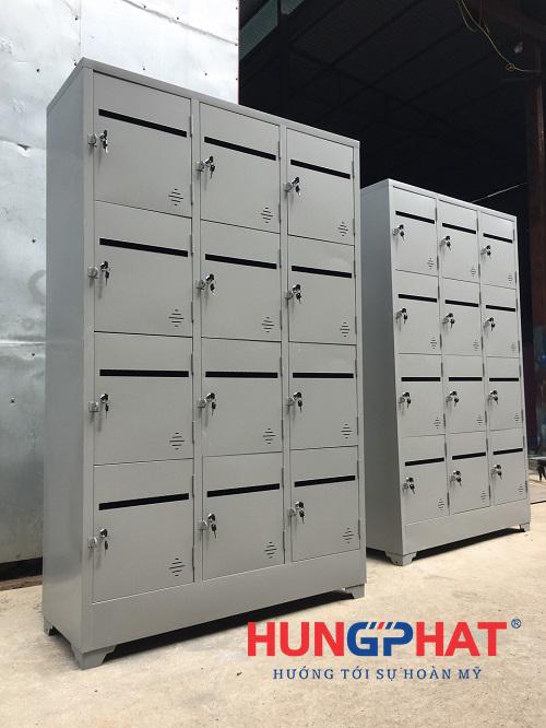 Tủ locker 12 ngăn để thư cho chung cư4