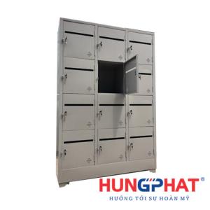 Tủ locker 12 ngăn để thư cho chung cư