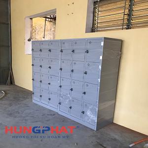 Phân phối tủ locker 12 ngăn tại Trường Sĩ quan Lục quân 1- Sơn Tây