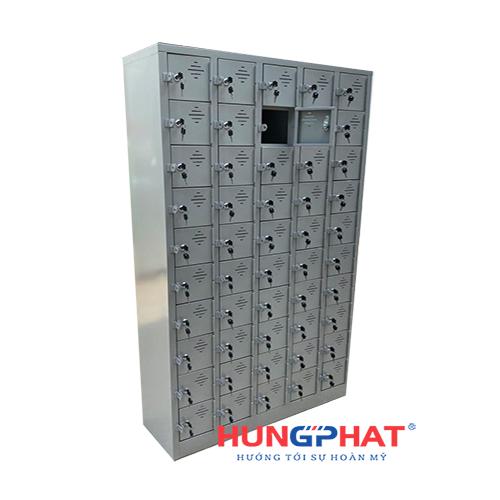 Tủ sắt locker 50 ngăn để điện thoại