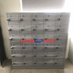 Phân phối 5 tủ locker 30 theo yêu cầu tại công ty May Hồng Thái, Quỳnh Phụ- Thái Bình