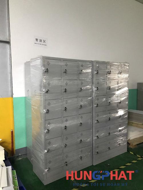 Phân phối tủ sắt locker 18 ngăn tại công ty TNHH In Yaolong Việt Nam1