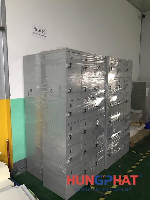 Phân phối tủ sắt locker 18 ngăn tại công ty TNHH In Yaolong Việt Nam