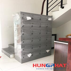Phân phối tủ sắt locker 20 ngăn, 24 ngăn tại Xuân La, Tây Hồ
