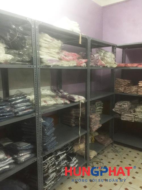 Lắp đặt 20 bộ kệ kho hàng kho D1000 x S500 x C2000 x 5 sàn tại Minh Khai, Hà Nội1
