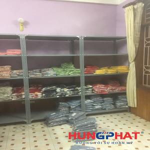Lắp đặt 20 bộ kệ kho hàng D1000 x S500 x C2000 x 5 sàn tại Minh Khai, Hà Nội