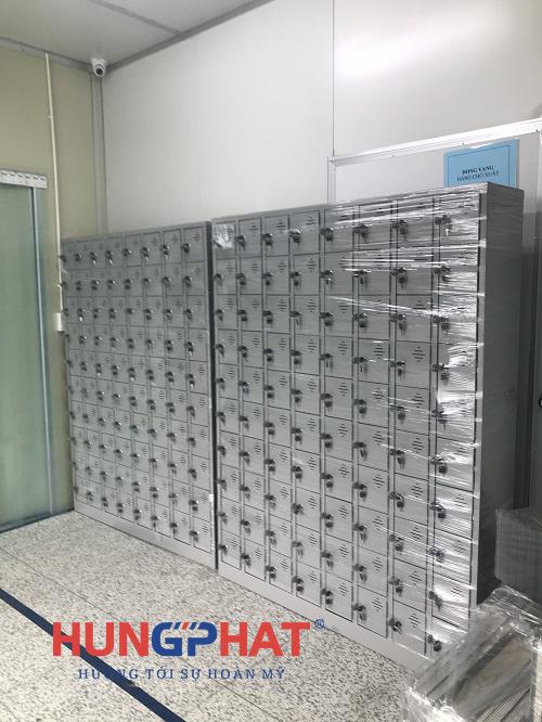 Phân phối tủ locker 80 ngăn tại KCN Quế Võ 1, Bắc Ninh1