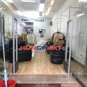 Lắp đặt 1 bộ cổng từ EAS5008 tại TP Bắc Ninh
