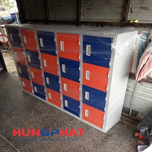 Phân phối tủ mầm non 20 ngăn gửi xe đi TP Hòa Bình