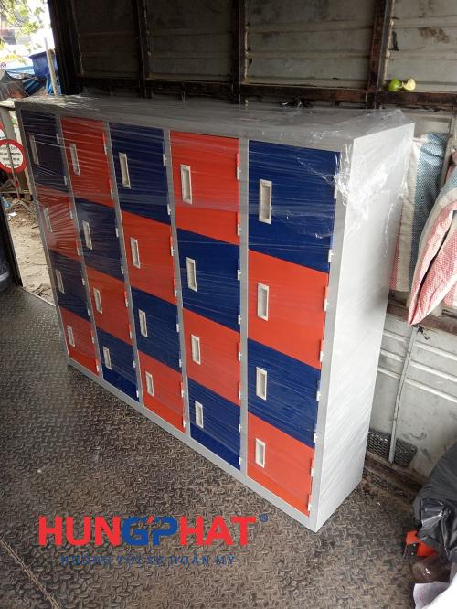 Phân phối tủ mầm non 20 ngăn gửi xe đi TP Hòa Bình2