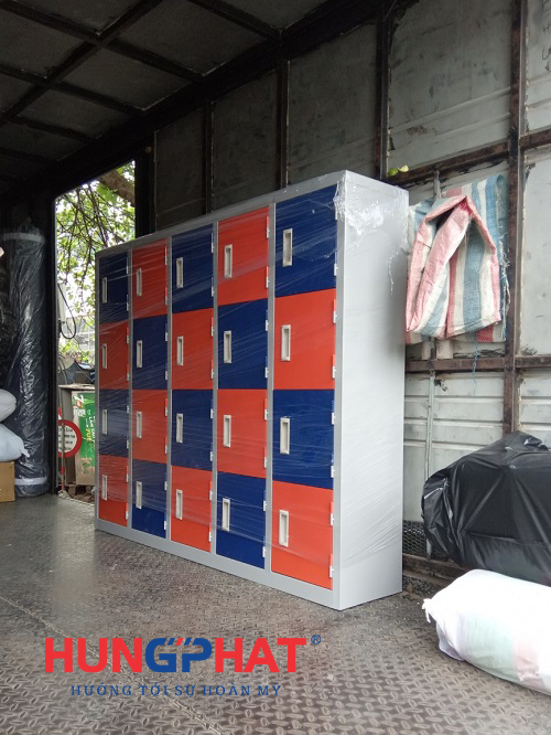 Phân phối tủ mầm non 20 ngăn gửi xe đi TP Hòa Bình3