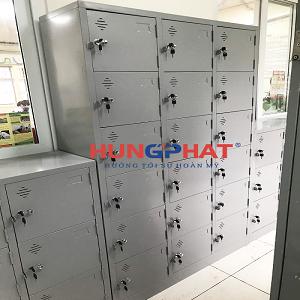 Phân phối 3 bộ tủ locker theo yêu cầu tại trường THCS Hoàn Kiếm