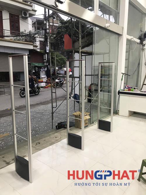Lắp đặt cổng từ 3 cánh EG 632 tại Đồng Đăng, Lạng Sơn2