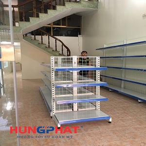 Hoàn thành lắp đặt giá kệ siêu thị tại Gia Lộc, Hải Dương