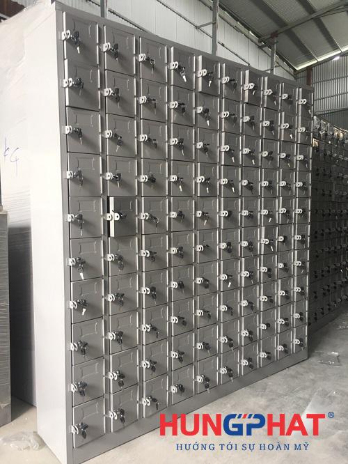 Sản xuất và phân phối tủ locker 100 ngăn tại KCN Thăng Long3