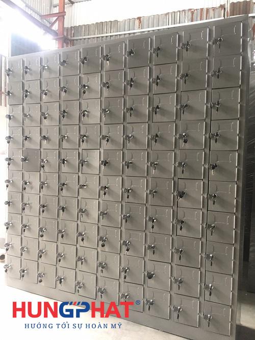Sản xuất và phân phối tủ locker 100 ngăn tại KCN Thăng Long2