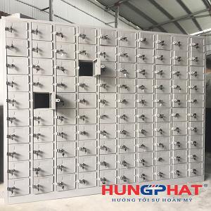 Sản xuất và phân phối tủ locker 100 ngăn tại KCN Thăng Long