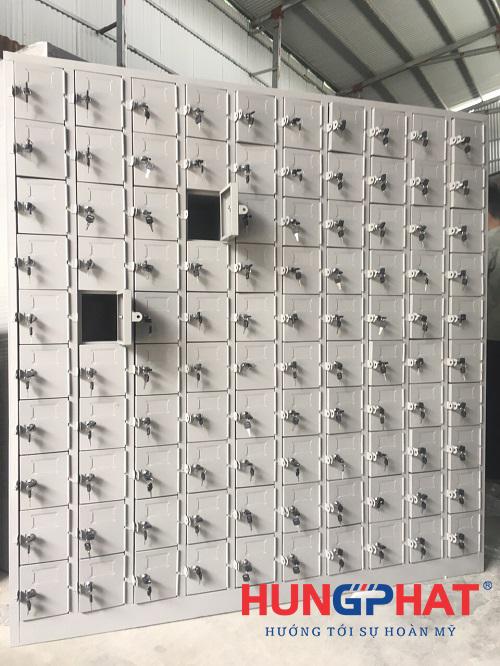 Sản xuất và phân phối tủ locker 100 ngăn tại KCN Thăng Long1