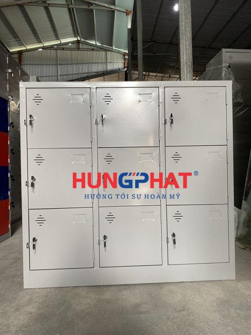 Phân phối tủ locker 9 ngăn theo yêu cầu tại Hào Nam, Hà Nội1