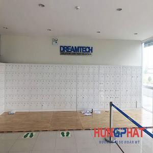 Cung cấp tủ locker 24 ngăn và tủ 36 ngăn tại công ty Dreamtech Bắc Ninh