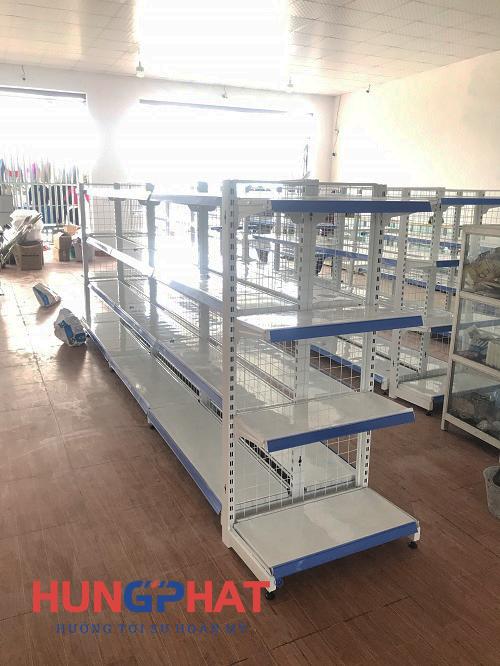 Cung cấp và lắp đặt 23 bộ kệ siêu thị lưới tại Thanh Hà, Hải Dương3
