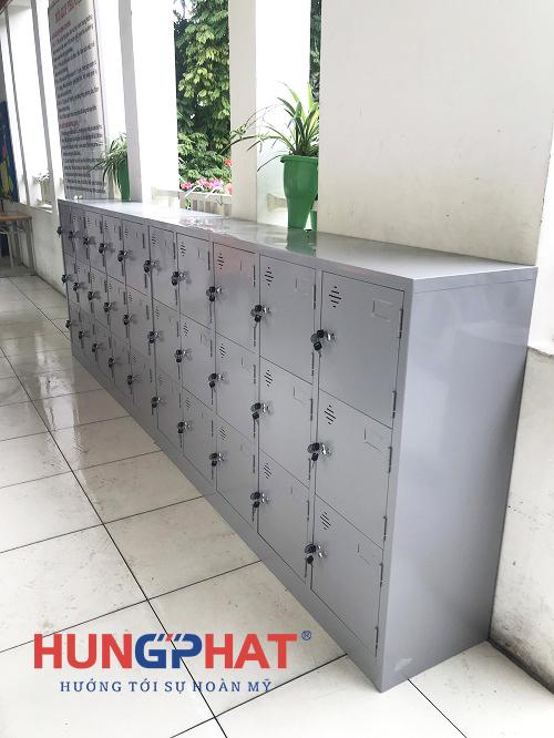 Phân phối tủ mầm non 15 ngăn và 9 ngăn tại Trường THCS Hoàn Kiếm2
