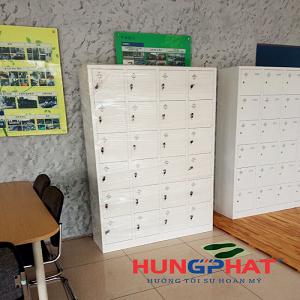 Nhận đơn hàng phân phối tủ locker 24 ngăn tại Minh Khai