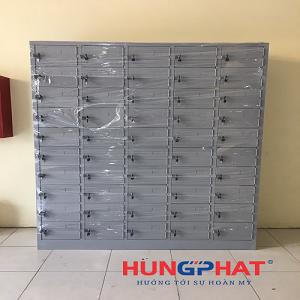 Hoàn thiện đơn hàng tủ sắt locker 50 ngăn tại Hoài Đức, Hà Nội