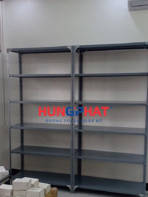 Lắp đặt kệ kho hàng 6 sàn tại khu đô thị Việt Hưng, Quận Long Biên1