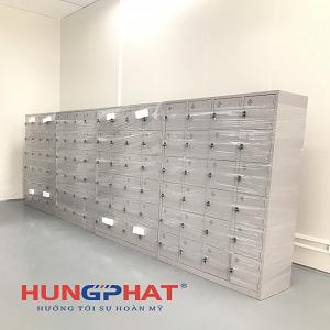 Cung cấp 10 tủ locker sắt 24 ngăn tại KCN Đồng Văn IV, Hà Nam