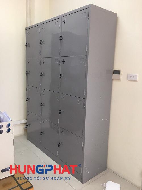 Nhận đơn hàng phân phối tủ locker 12 ngăn tại Học viện Quân y 1