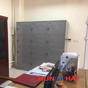 Hoàn thành đơn hàng tủ locker 12 ngăn tại Học viện Quân y
