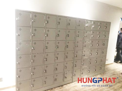 Phân phối tủ locker 24 ngăn và 30 ngăn tại chợ Hàng Da, Hà Nội1