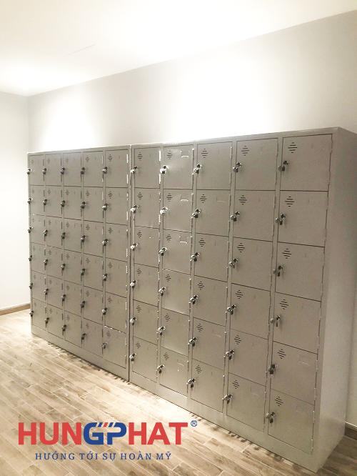 Phân phối tủ locker 24 ngăn và 30 ngăn tại chợ Hàng Da, Hà Nội3