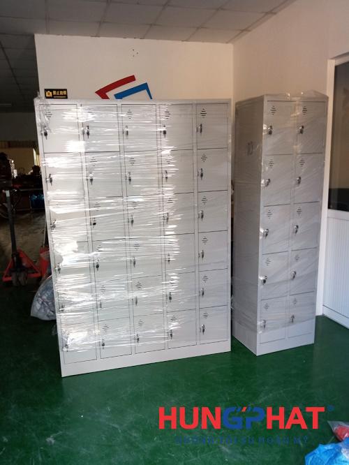 Hoàn thiện đơn hàng tủ locker 30 ngăn và 10 ngăn tại Hưng Yên3