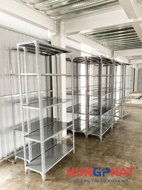Lắp đặt 20 bộ kệ kho hàng 5 sàn tại KCN Thụy Vân, Phú Thọ1