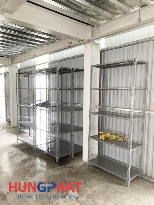 Lắp đặt 20 bộ kệ kho hàng 5 sàn tại KCN Thụy Vân, Phú Thọ3