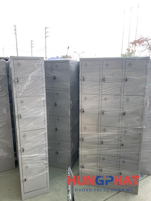 Cung cấp tủ locker 12 ngăn, 8 ngăn và 4 ngăn tại KCN Bình Lục, Hà Nam1