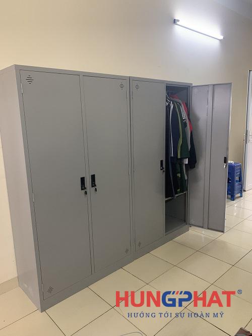 Tủ K2 quần áo phân phối tại Học Viện Quốc Phòng, Trần Bình3