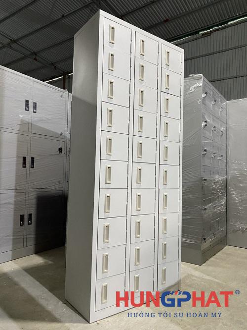 Tủ để giày dép 30 ngăn phân phối cho khách hàng tại Ninh Bình2