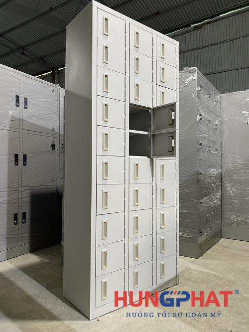 Tủ để giày dép 30 ngăn phân phối cho khách hàng tại Ninh Bình4