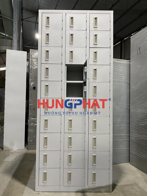 Tủ để giày dép 30 ngăn phân phối cho khách hàng tại Ninh Bình1