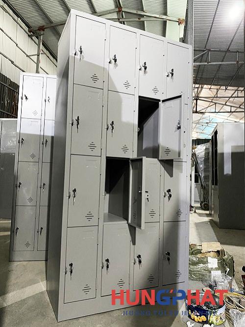 Phân phối tủ locker sắt 16 ngăn tại Thuận Thành, Bắc Ninh2