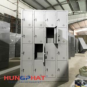 Phân phối tủ locker 16 ngăn tại Thuận Thành, Bắc Ninh