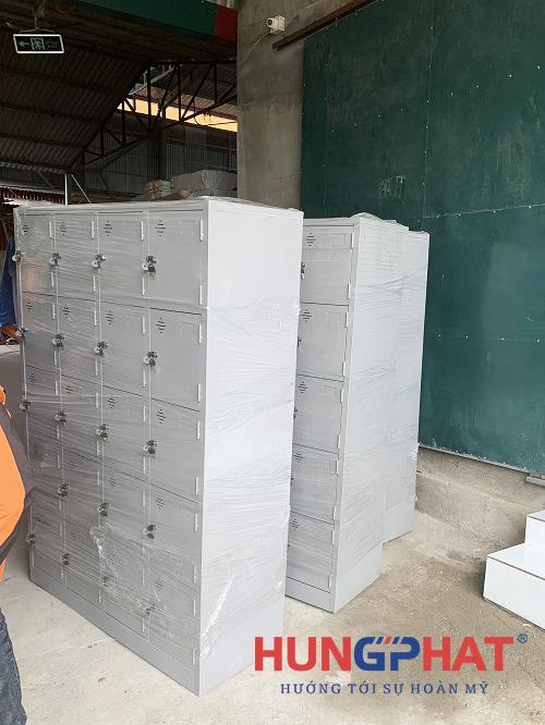 Hoàn thành 5 bộ tủ locker sắt 20 ngăn tại Hà Hòa, Phú Thọ2