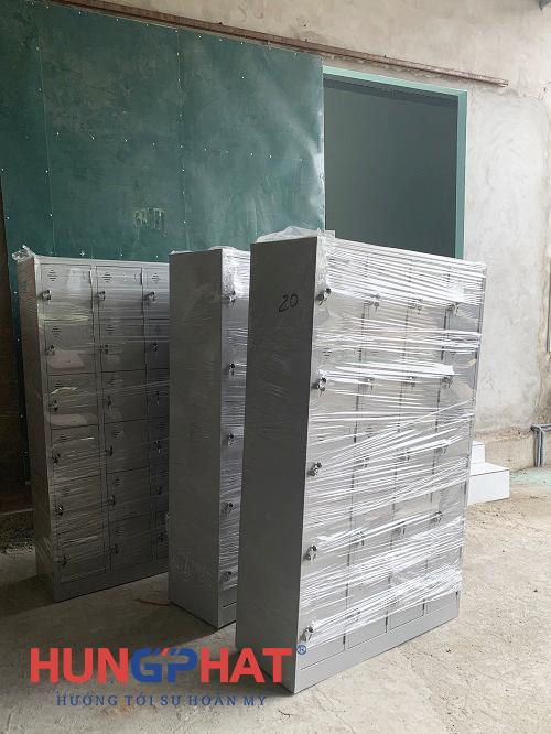 Hoàn thành 5 bộ tủ locker sắt 20 ngăn tại Hà Hòa, Phú Thọ3