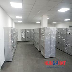 Bàn giao 85 bộ tủ locker 6 ngăn quần áo tại cảng Cái Mép, Vũng Tàu