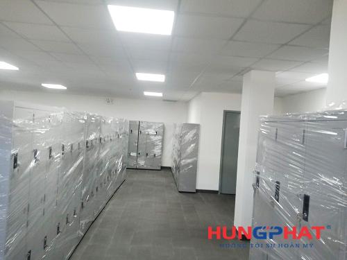 Bàn giao 85 bộ tủ locker 6 ngăn quần áo tại cảng Cái Mép, Vũng Tàu2